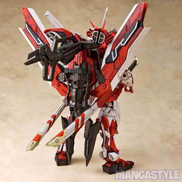 Mô Hình MG Gundam Astray Red Frame Kai Ji Jia Xian Qu