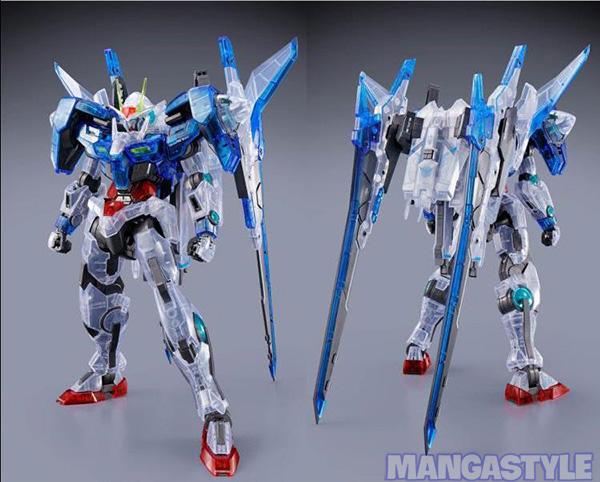 Mô Hình P Bandai Gundam MG 1/100 Gundam 00 XN Raiser (Clear Color)
