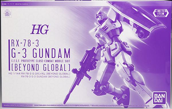 Mô Hình P Bandai HG 1/144 RX-78-3 G-3 Gundam (Beyond Global)