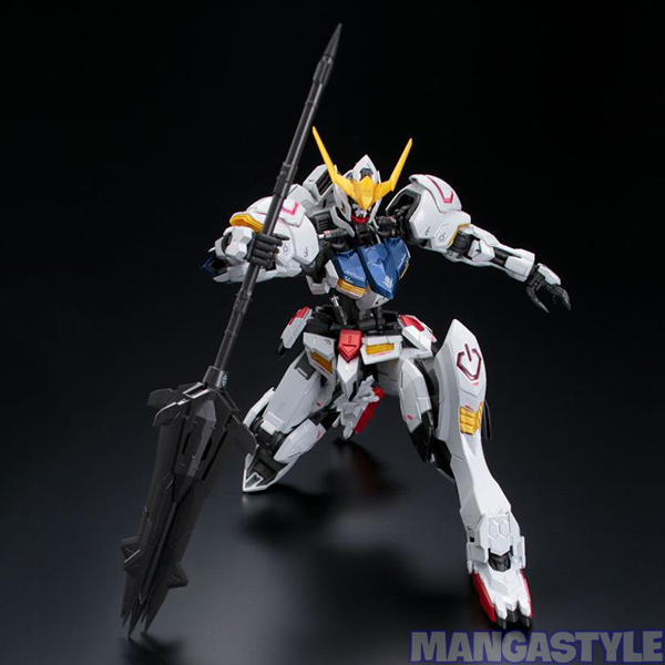 Mô Hình P Bandai MG 1/100 Gundam Barbatos [Titanium Finish]