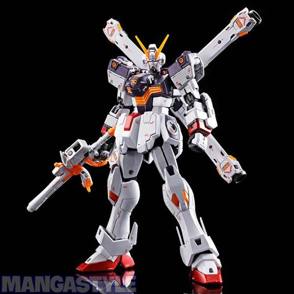 Mô Hình P-Bandai RG 1/144 Gundam Crossbone X1 (Titanium Finish)