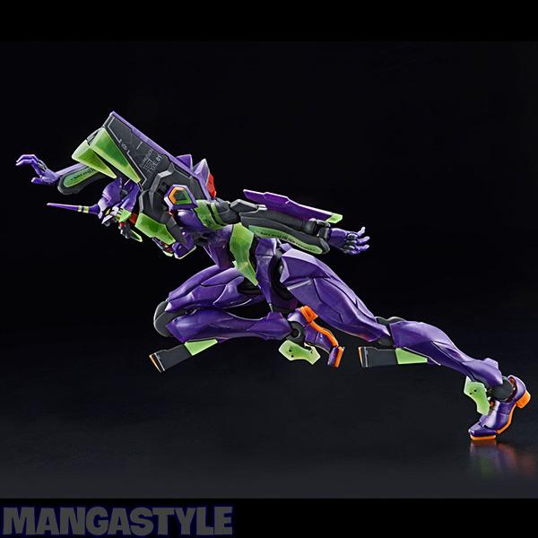 Mô Hình P-Bandai RG Evangelion EVA Unit-01 (Night Combat Ver.)