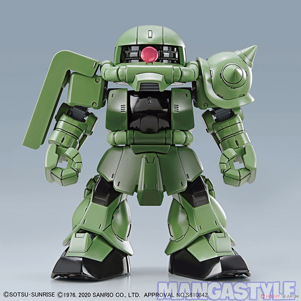Mô Hình SD Gundam Cross Silhouette Hello Kitty/Zaku II