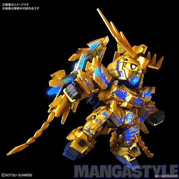 Mô Hình SD Gundam Cross Silhouette Unicorn Gundam 03 Phenex