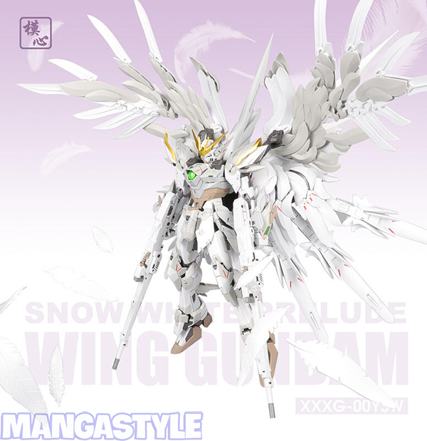 Mô Hình Supernova MG 1/100 Wing Gundam Snow White Prelude