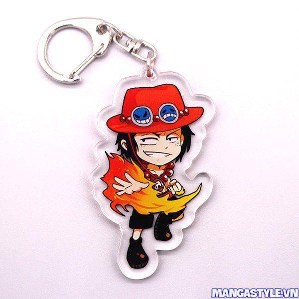 Móc Khóa Mica One Piece