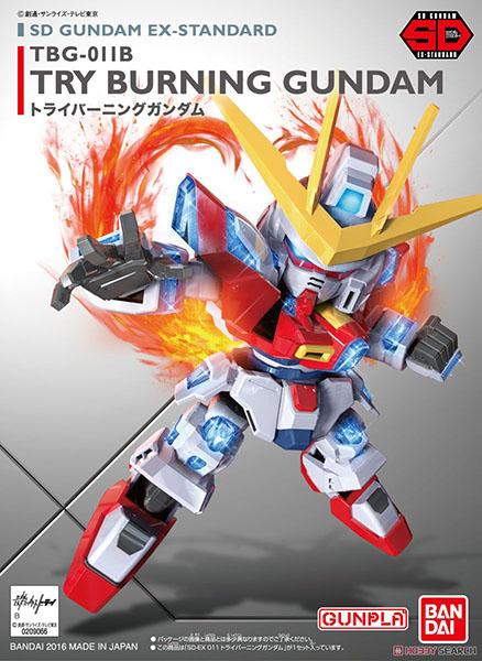 Mô Hình SD Gundam EX-Standard Try Burning Gundam