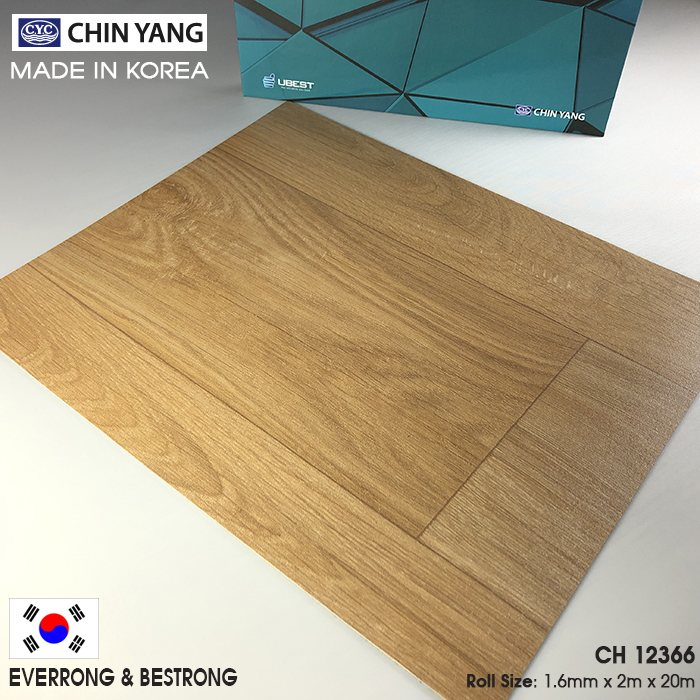 SÀN NHỰA CUỘN (VINYL ROLL) 1.6mm - CH 12366 - MADE IN KOREA