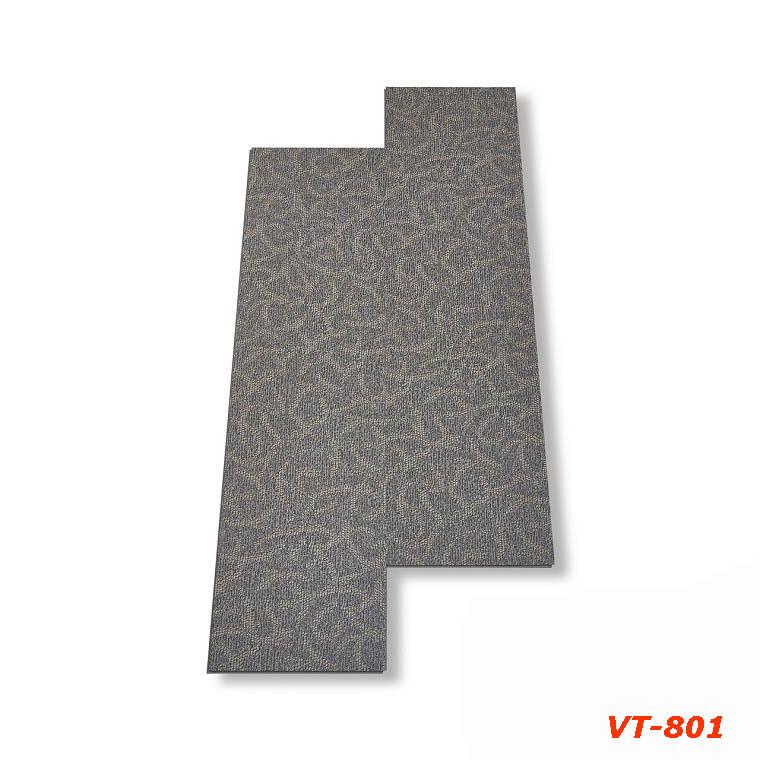 Sàn nhựa hèm khóa vân thảm Glotex - VT801