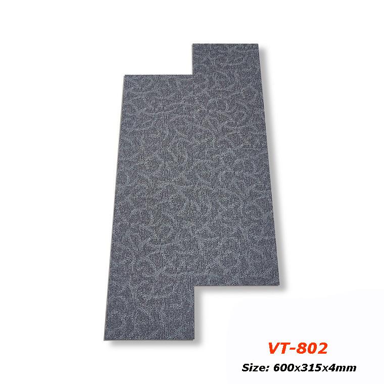 Sàn nhựa hèm khóa vân thảm Glotex - VT802