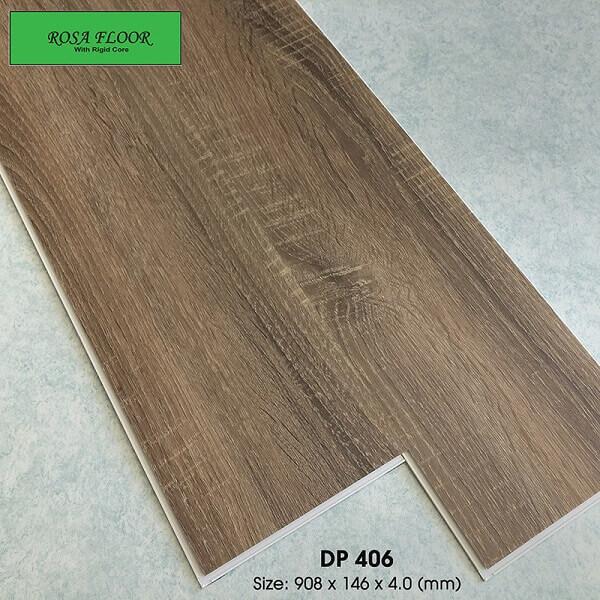Sàn nhựa hèm khóa Hàn Quốc ROSA DP406