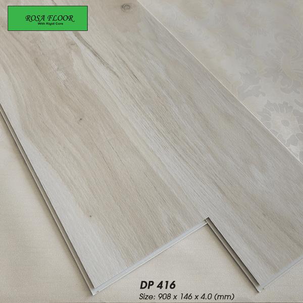 Sàn nhựa hèm khóa Hàn Quốc ROSA DP416