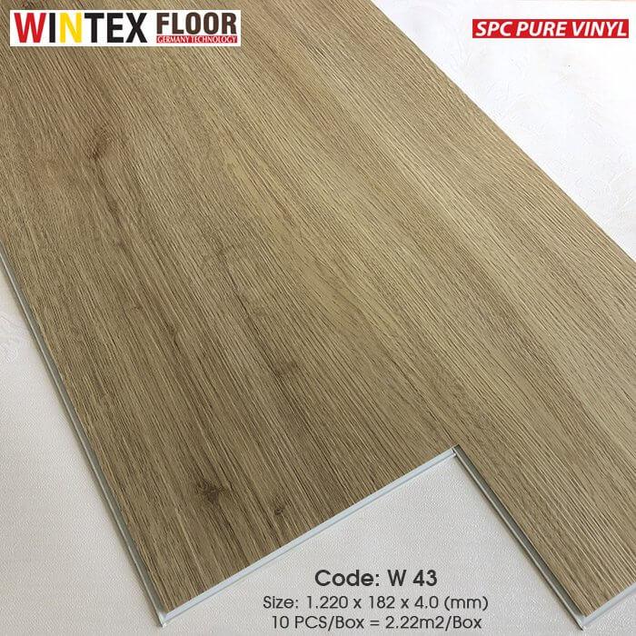 Sàn nhựa Wintex - W43