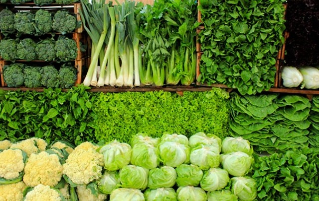Những loại rau có màu xanh đậm là nguồn cung cấp collagen quan trọng trong cơ thể
