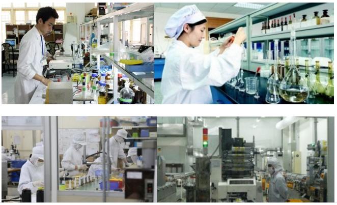 Phòng nghiên cứu vẫn luôn cải tiến nâng cao chất lượng dù là sản phẩm mới hay cũ
