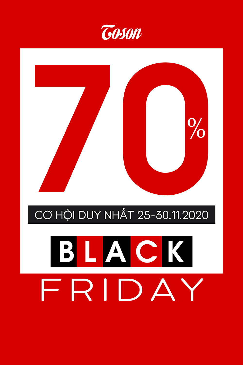 BLACK FRIDAY: 𝐒𝐀𝐋𝐄 𝐔𝐏 𝐓𝐎 𝟕𝟎% 𝐀𝐋𝐋 𝐈𝐓𝐄𝐌𝐒