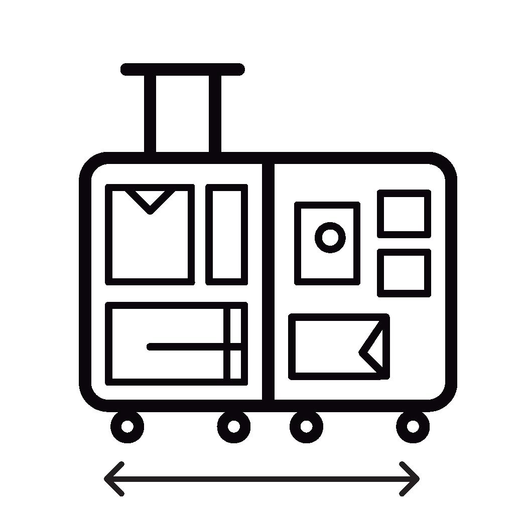 4. Ngăn chứa sang trọng thiết kế thông minh