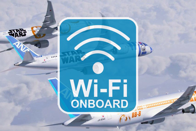 Vietnam Airlines cung cấp wifi