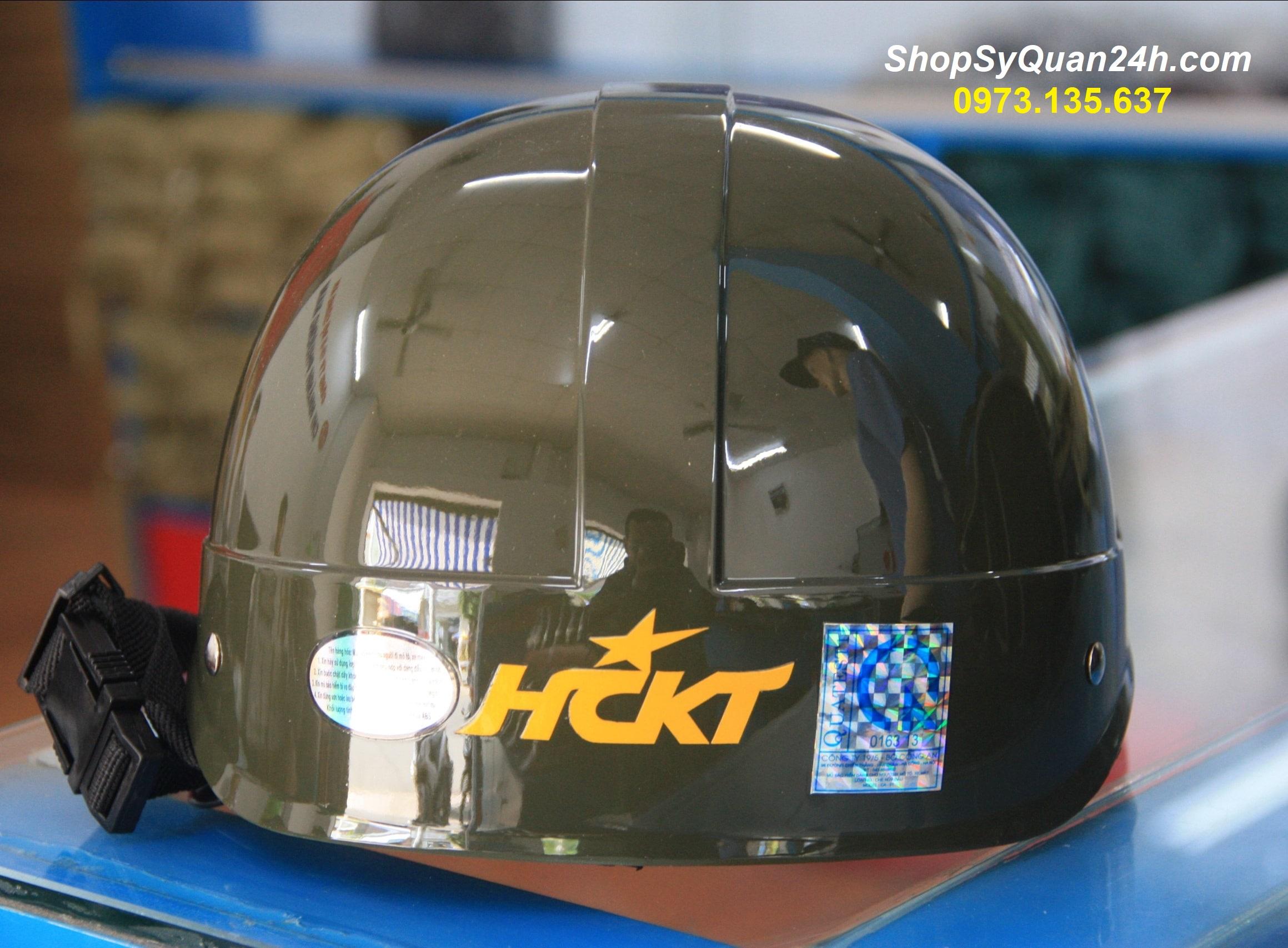 Mũ Bảo Hiểm Công An HCKT