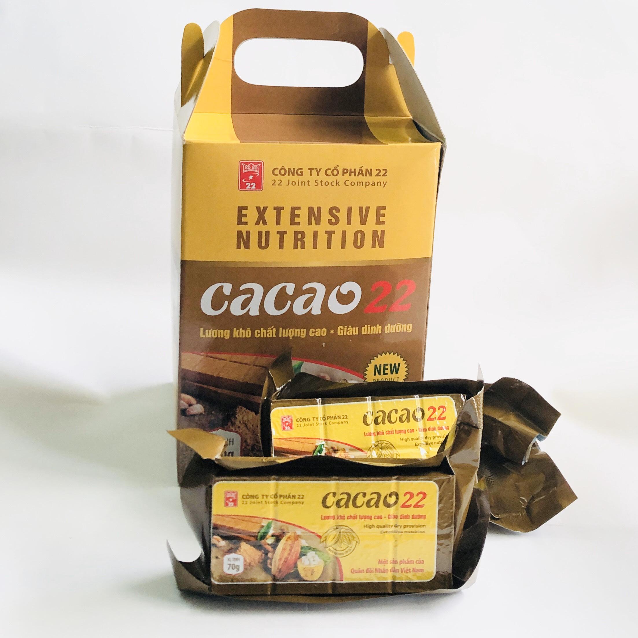 Lương Khô Cacao- Lương Khô Quân Đội