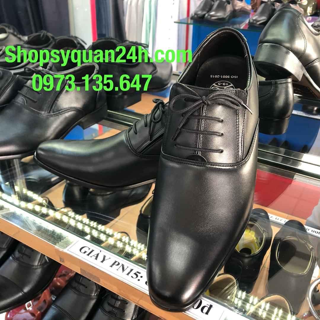 Giày Da Sỹ Quan Cao Cấp 19/5 Mã PN15