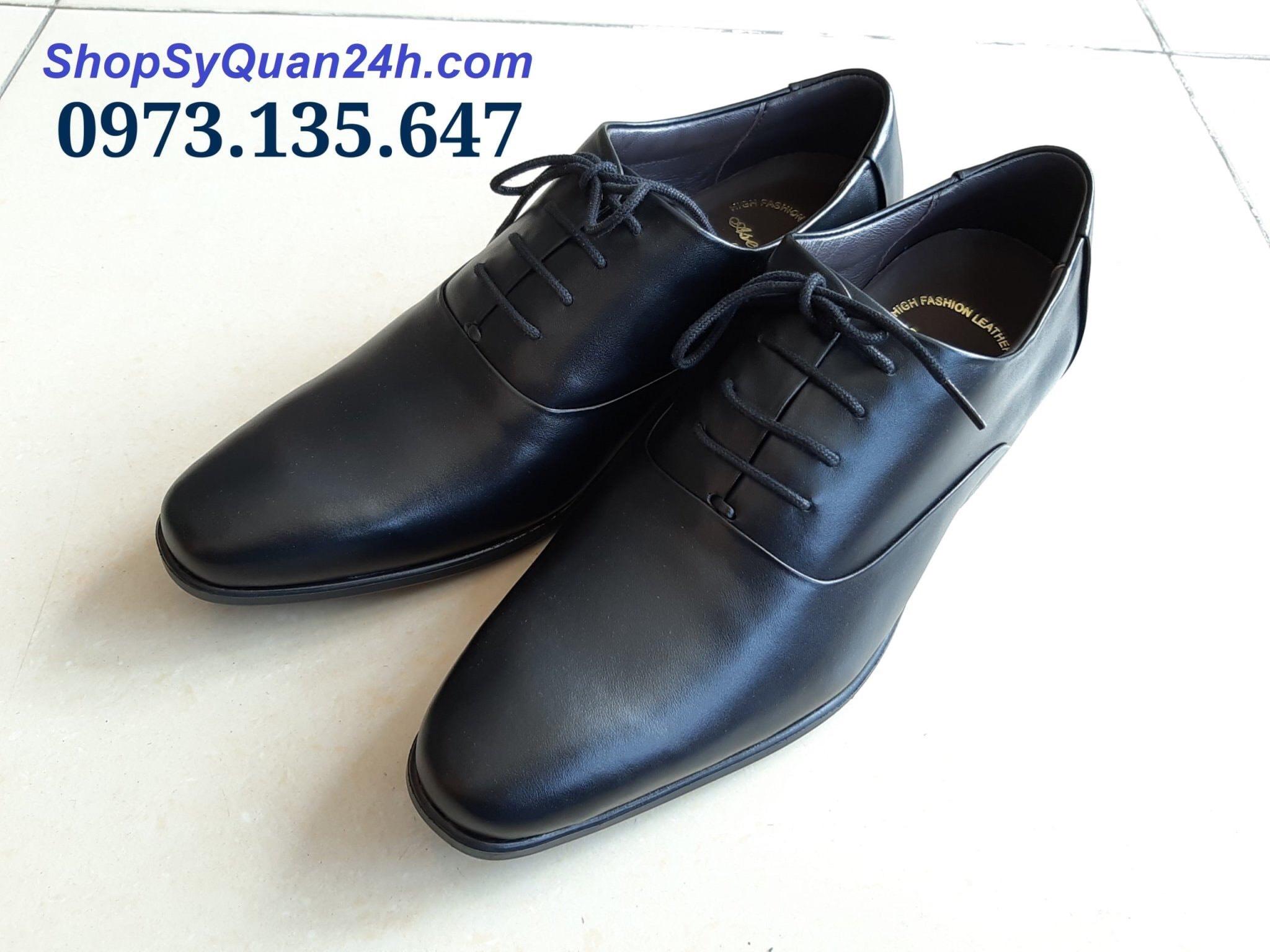 Giày Sỹ Quan Công Sở 809 - Đen