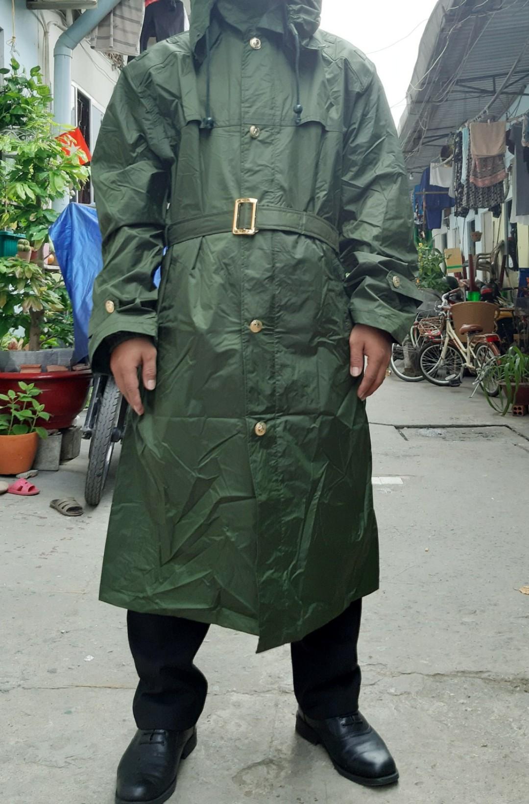 Áo Mưa Lính Gác (Nguyên Bộ Badeshi)