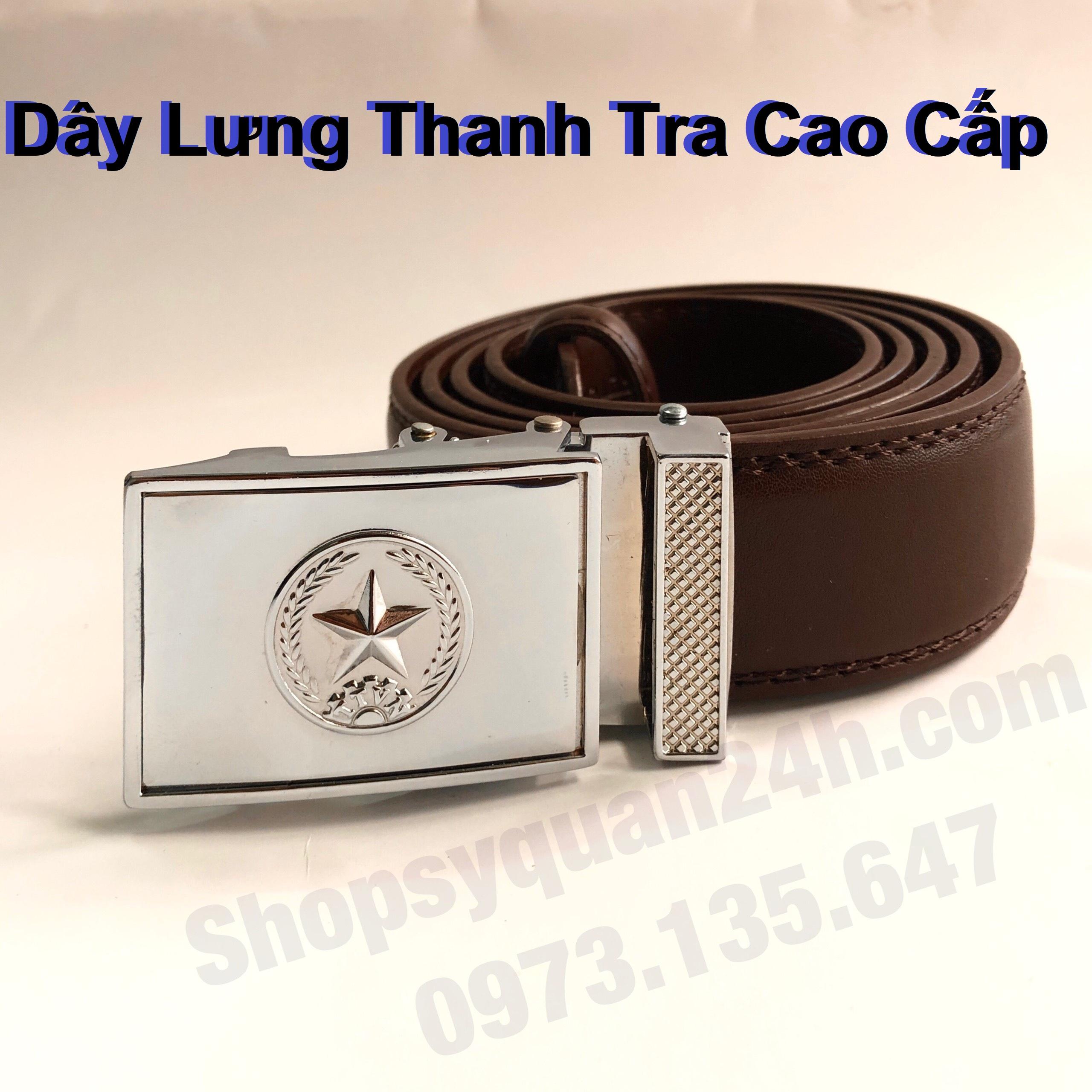 Dây Lưng Thanh Tra Việt Nam Cao Cấp (Nâu)