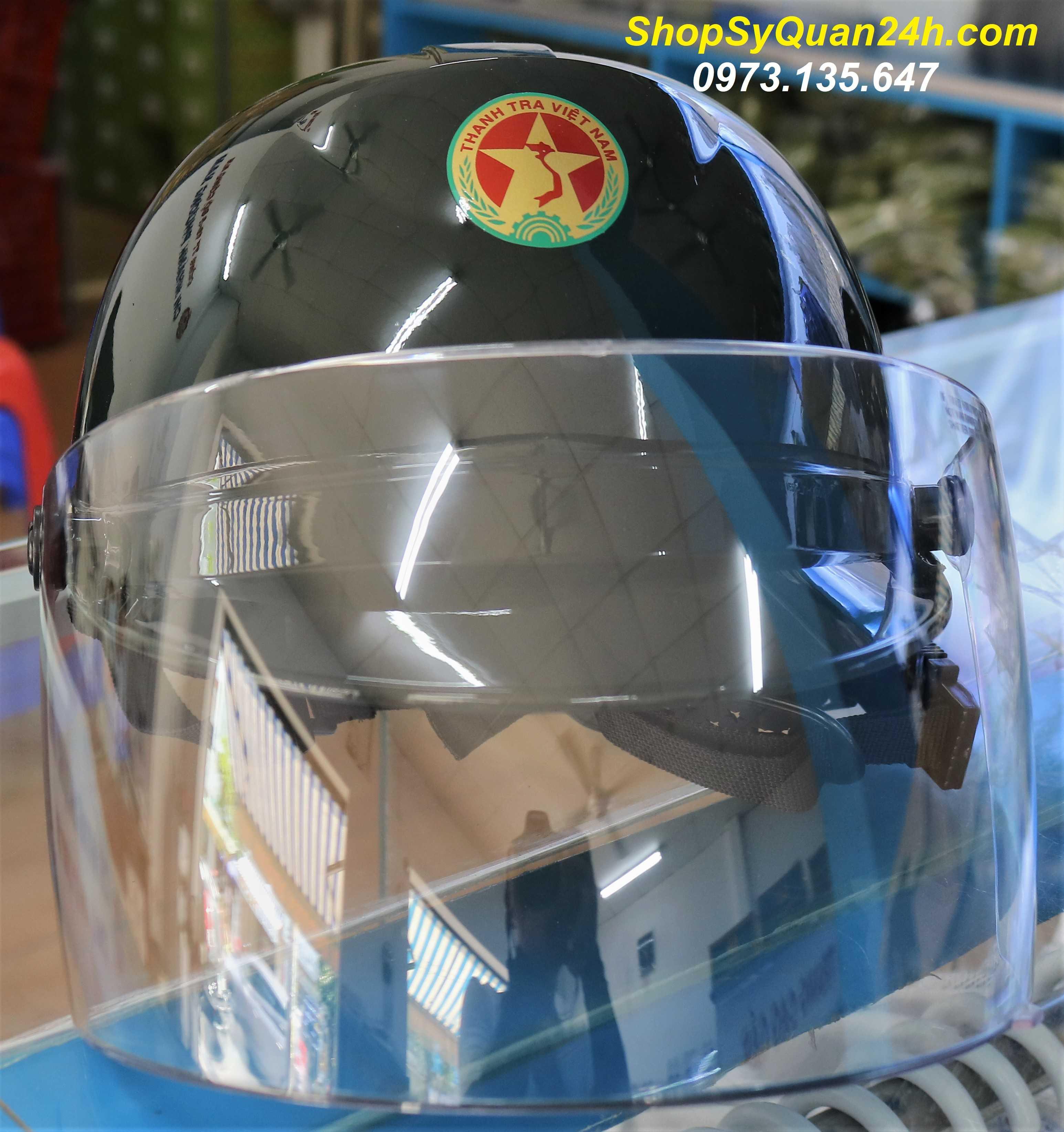 Mũ Bảo Hiểm Thanh Tra Việt Nam