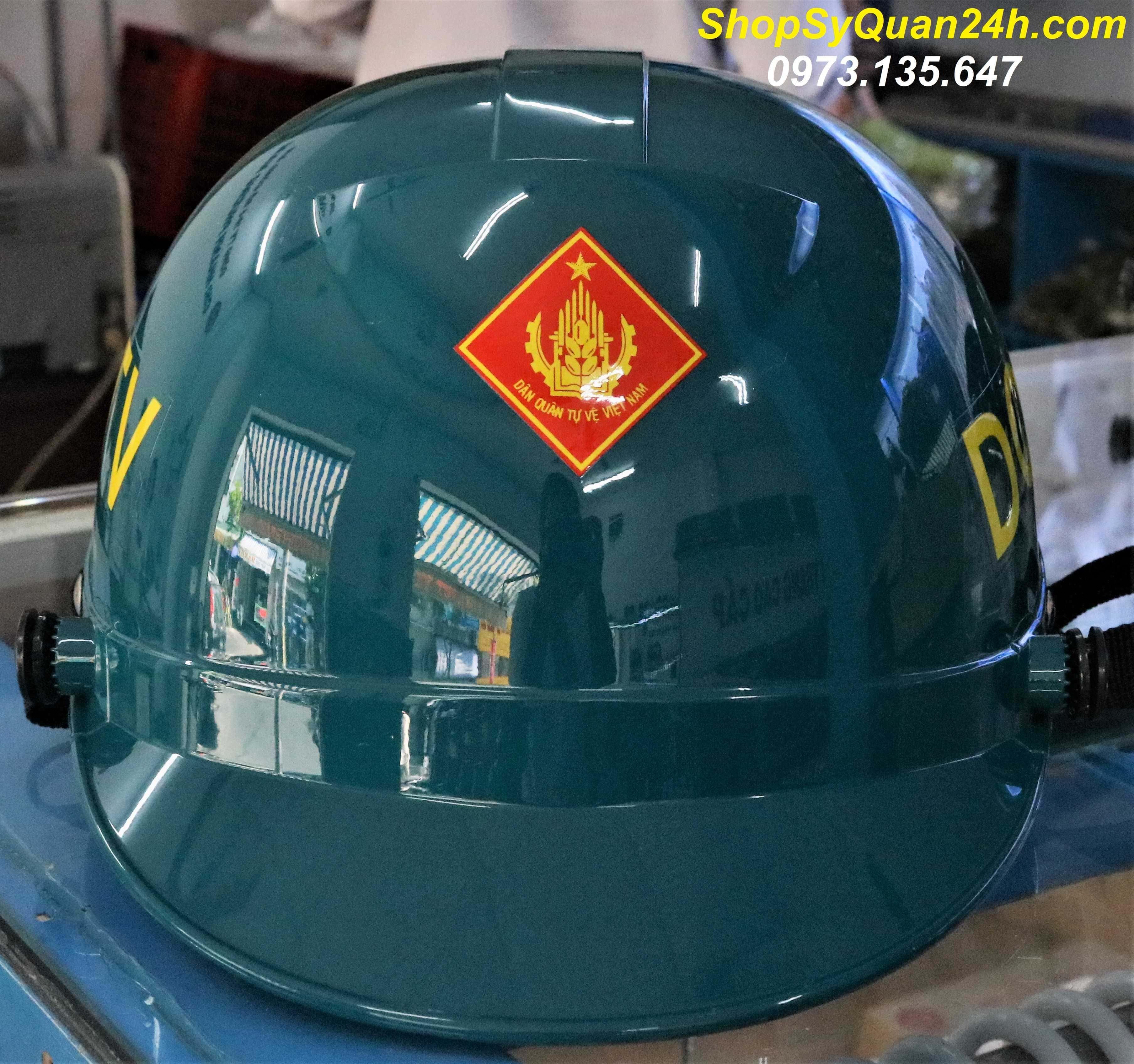Mũ Nón Bảo Hiểm Dân Quân Tự Vệ