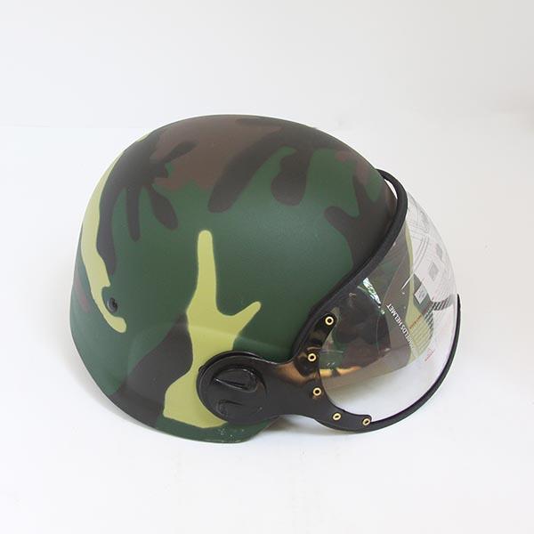 Mũ Nón Bảo Hiểm Quân Đội Rằn Ri Có Kính