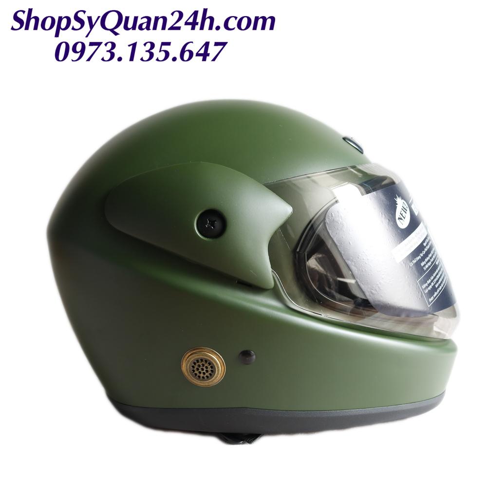 Mũ Nón Bảo Hiểm Quân Đội 2020 Full Face- Mũ Quân Khu