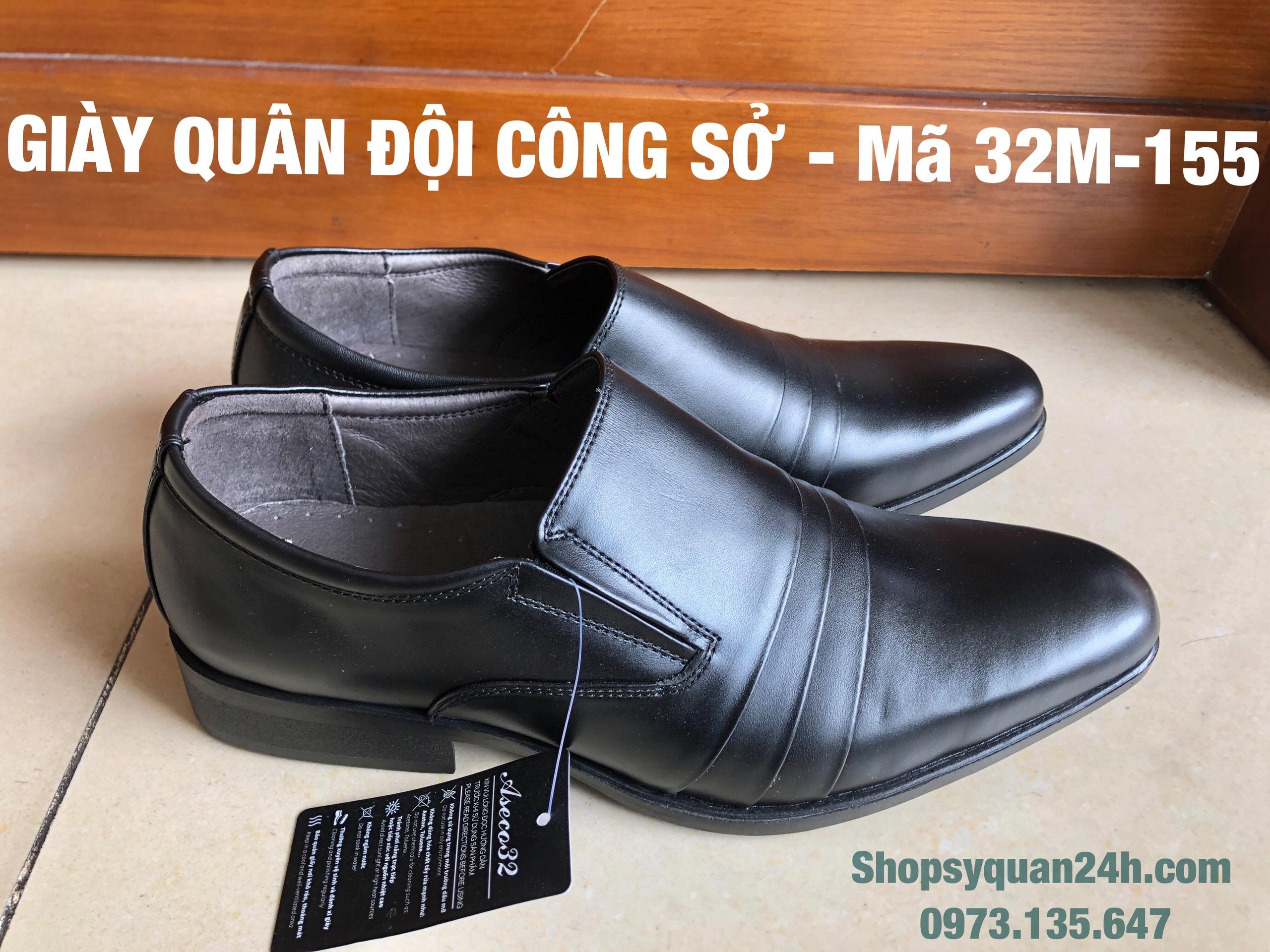 Giày Da Nam Công Sở ASECO32 32M - 155