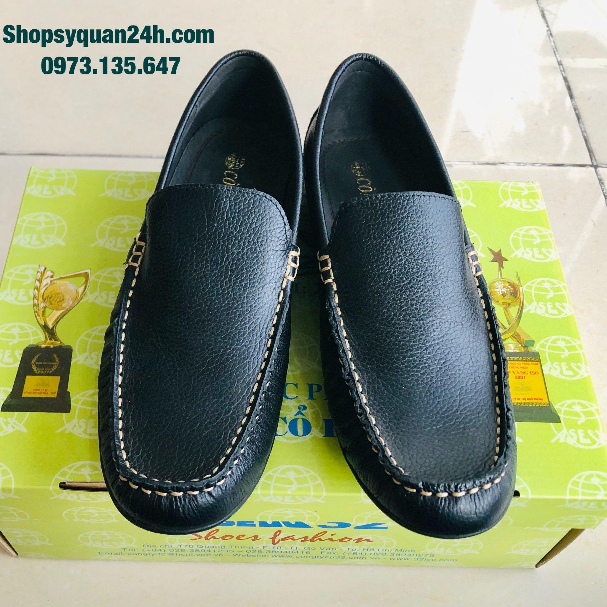 Giày Da Lười Nam 1080 Công Ty 32
