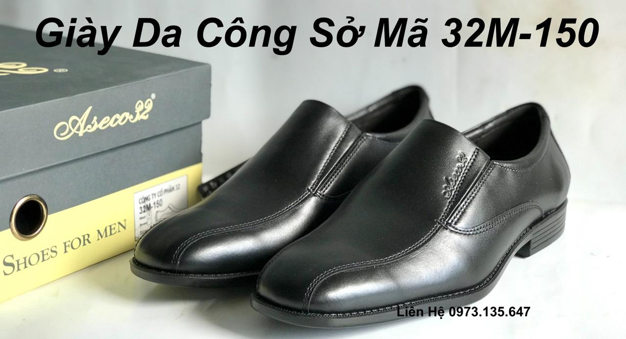 Giày Da Nam Công Sở ASECO32 32M - 150