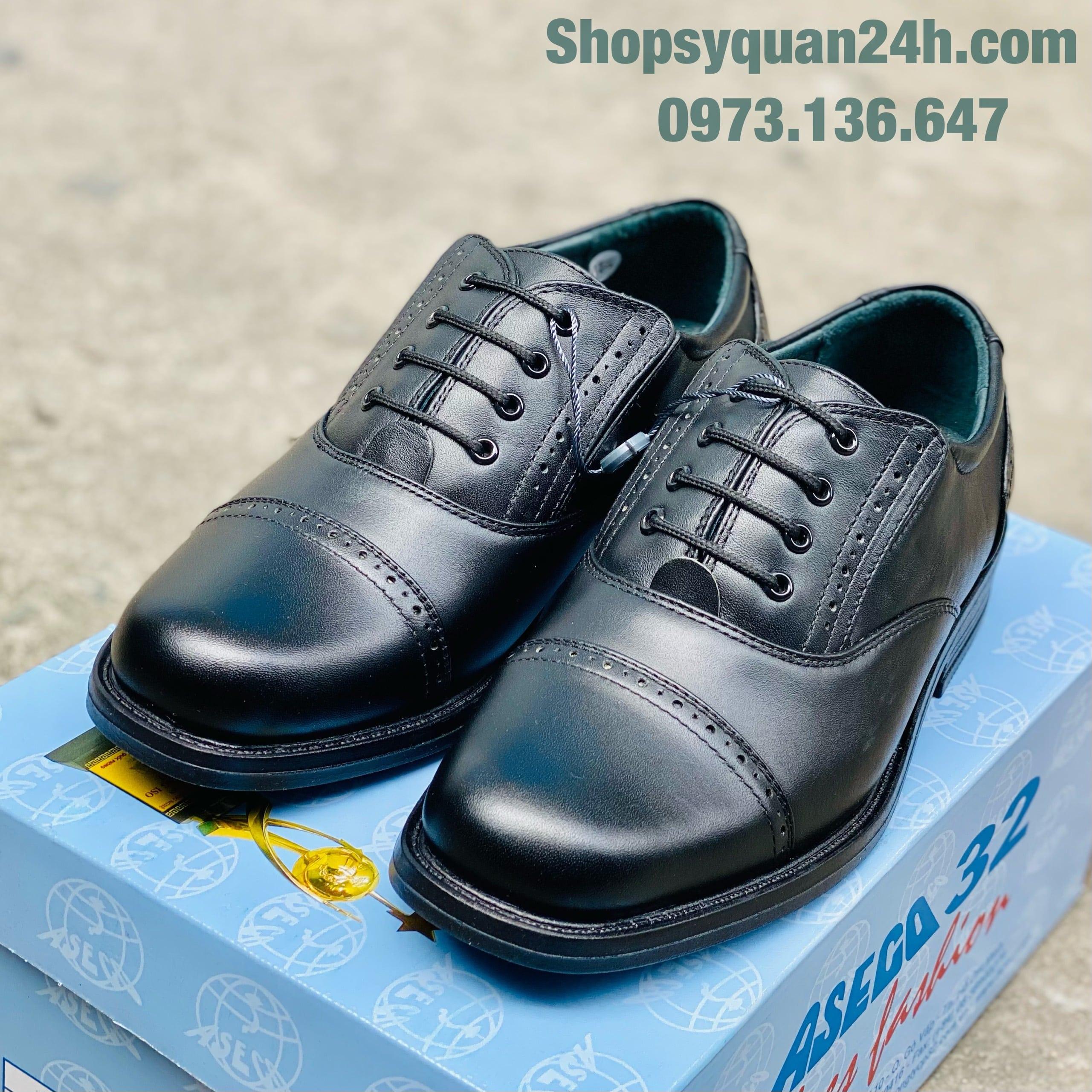 Giày Da Nam ASECO32 Mã 32M- 32D
