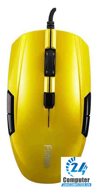Mouse Fuhlen G105 Optical USB Vàng
