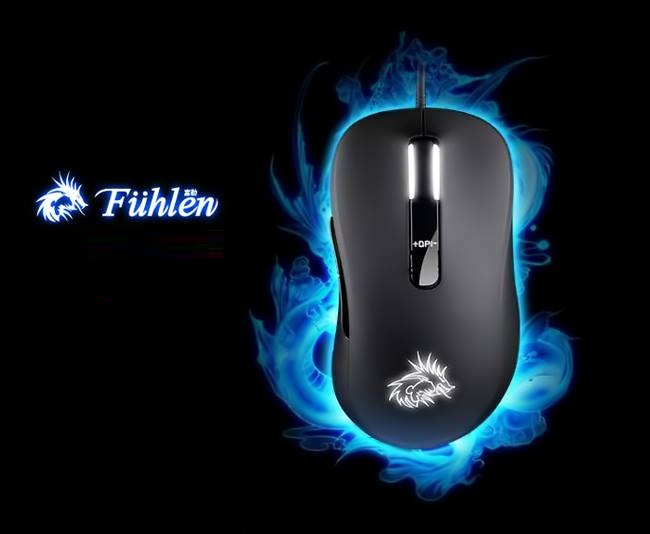Mouse Fuhlen G300S Optical USB - Gaming