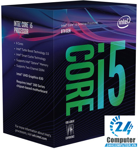 CPU Intel Core i5 8600 3.1 Ghz Turbo Up to 4.3Ghz / 9MB / 6 Cores, 6 Threads / Socket 1151 (Coffee Lake )