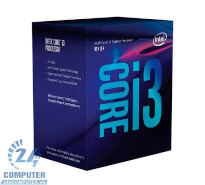 CPU Intel Core i3 9100 3.7 GHz 4 Cores 4 Threads6MBSocket 1151Coffee lake Refresh