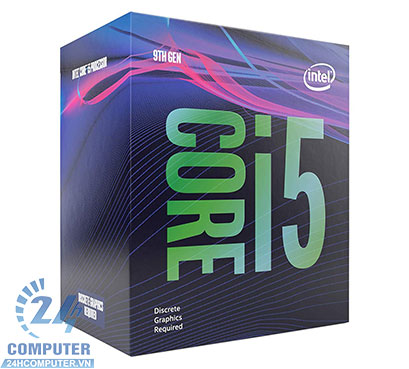 CPU Intel Core i5-9400F 2.90Ghz Turbo up to 4.10GHz