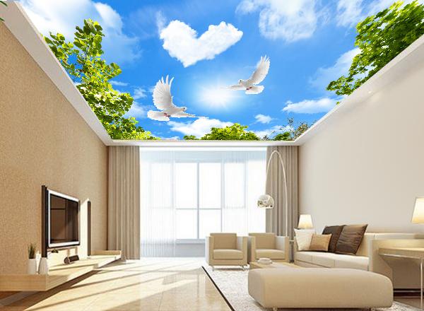 Giấy dán trần nhà - MS119