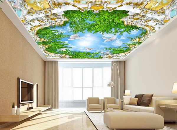 Giấy dán trần nhà - MS121