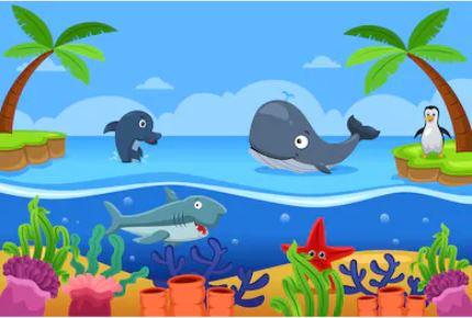 Hoạt hình cá - THH56