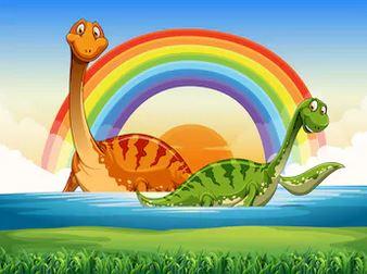 Hoạt hình khủng long - THH110