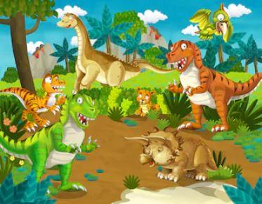 Hoạt hình khủng long - THH113