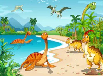 Hoạt hình khủng long - THH114