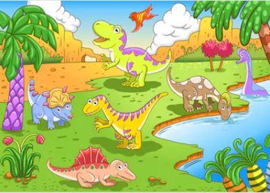 Hoạt hình khủng long - THH115