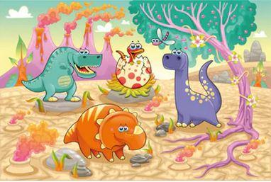 Hoạt hình khủng long - THH117