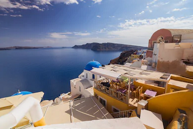 Cảnh đẹp Santorini Hy Lạp - TPKT330